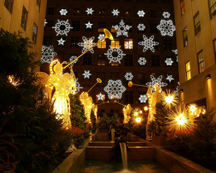 Christmas Light display - dazzling