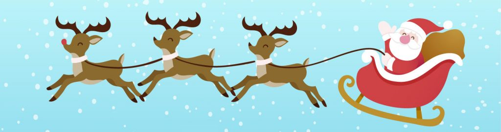 Happy Christmas Santas Sleigh