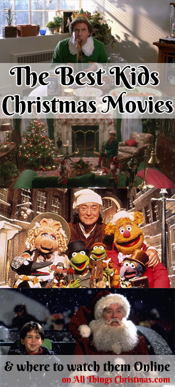 Best Christmas Movies for Kids on AllThingsChristmas.com