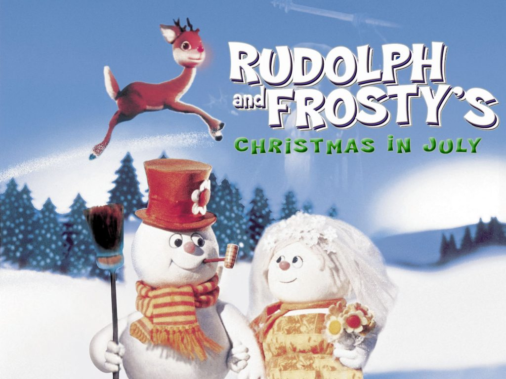 Best Christmas in July Movies - Rudolph and Frosty