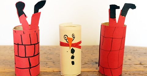 Easy Craft - Cardboard Tubes -Featured