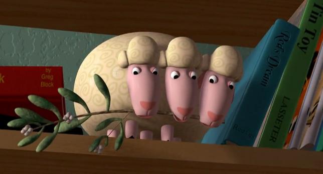 Mistletoe Kiss - Toy Story