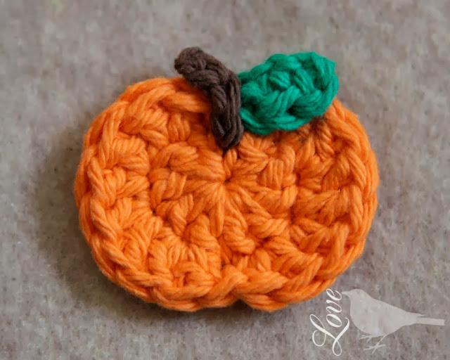 Easy Pumpkin Craft ideas on AllThingsChristmas.com - Crochet Pumpkin