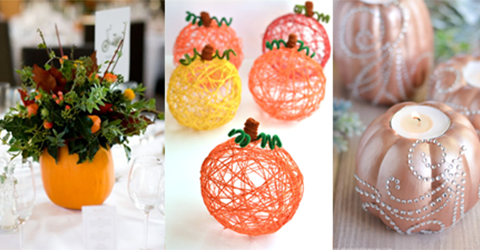 Easy Pumpkin Crafts - Featured