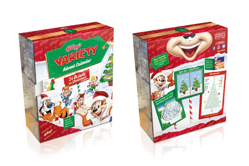 Cereal Christmas Advent Calendar