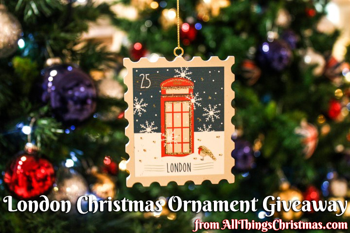 London Christmas Ornament Giveaway on AllThingsChristmas