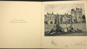 Vintage Royal Family Christmas Cards Sell at Auction
