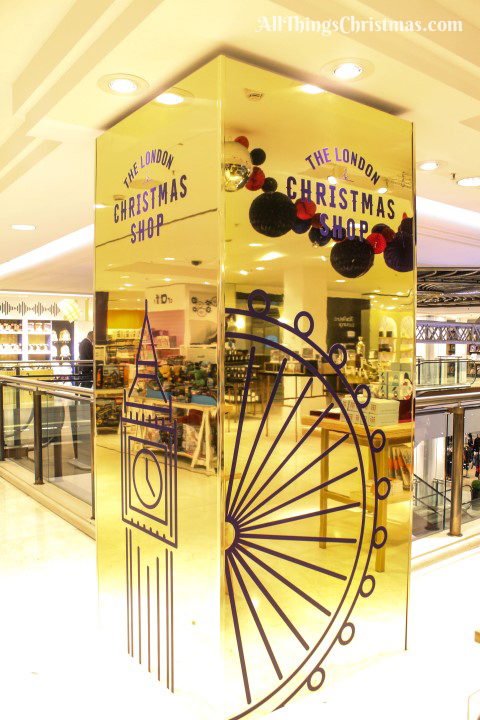 Selfridges Christmas Shop on AllThingsChristmas