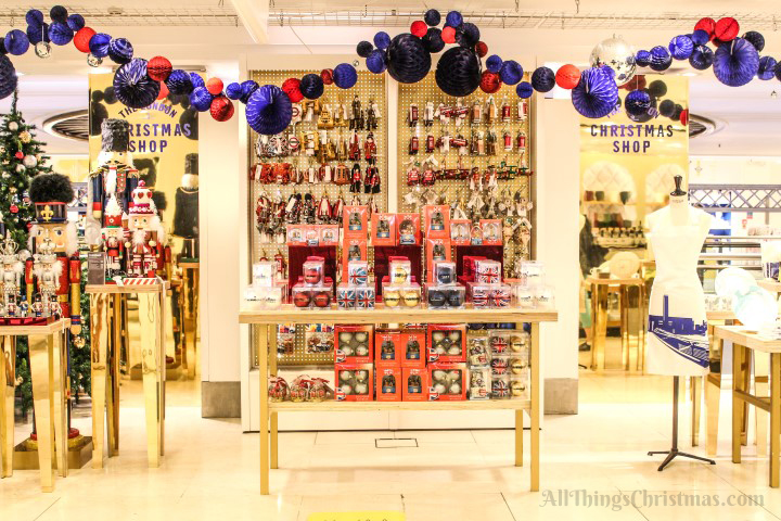 Selfridges Christmas Shop on AllThingsChristmas