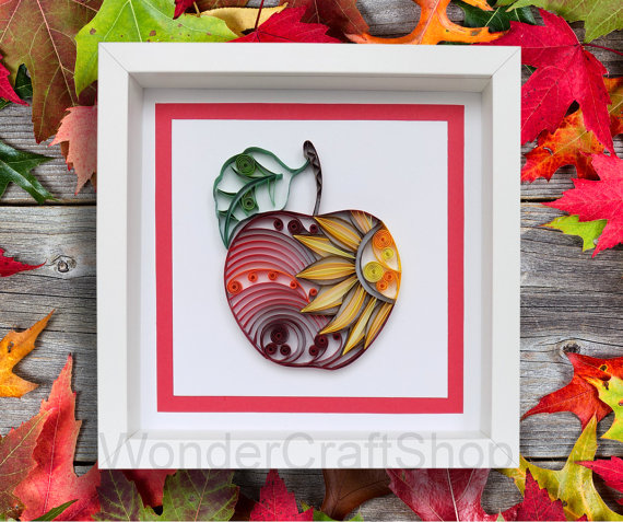 Best Autumn and Christmas Apple Decor