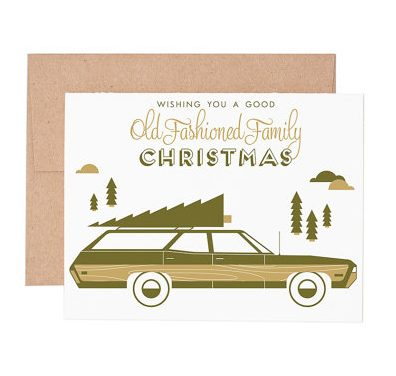 All Things Christmas Market Holiday Cards - Ruff House Art