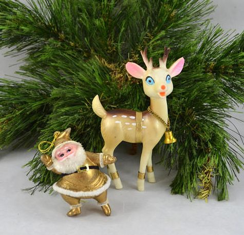 All Things Christmas Market - Christmas Tree Ornaments - Crazy Vintage Lady