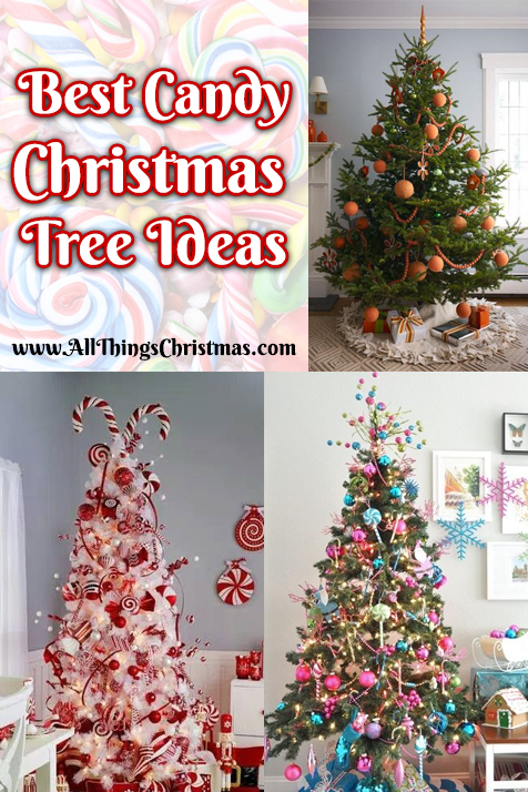 do you have other ideas for candy christmas tree ideas share on our forum - Candy Ornaments For Christmas Tree