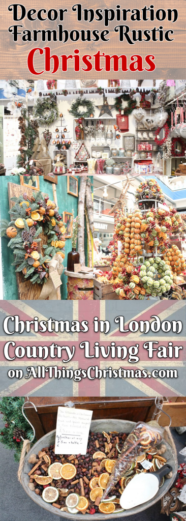 Country Living Christmas Fair London - Gallery on AllThingsChristmas.com
