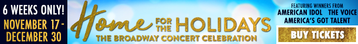 Home for the Holidays Banner
