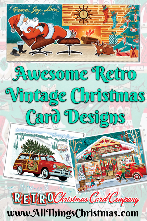 Retro Vintage Christmas Card Designs on AllThingsChristmas.com