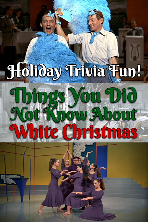 White Christmas Trivia Facebook Pin