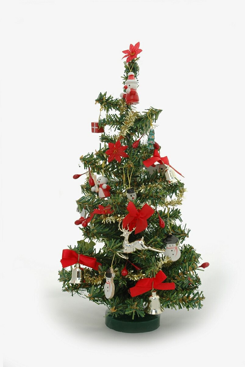 Large Picture Miniature Christmas Tree