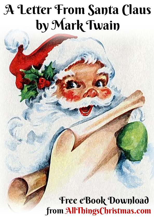 A Letter from Santa Claus by Mark Twain - Free eBook