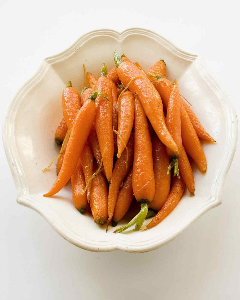 Best Christmas Sides - Carrots with Ginger and Honey