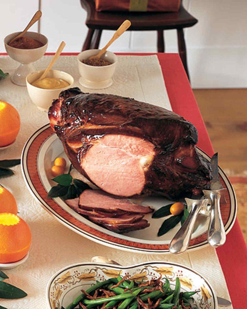 Maple Glazed Smoked Vermont Christmas Ham - Martha Stewart