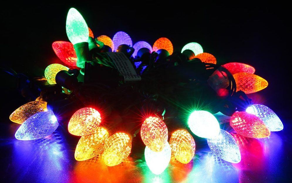 Christmas Tree Decorations - LED Lights
