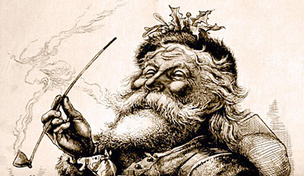 History of Santa - Thomas Nast