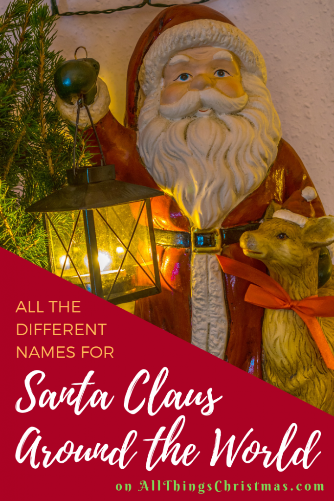 Different Names for Santa Claus around the World