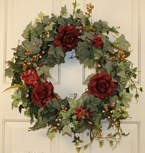 Victorian Christmas Decorations - Wreath 2