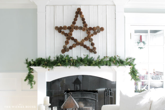 Best Pien Cone Crafts - Large Pine Cone Star