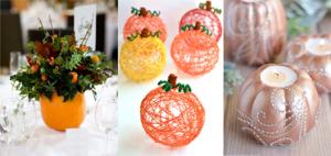 Easy Pumpkin Crafts - Featured