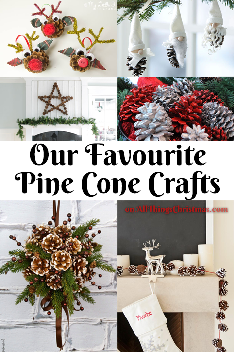 Pine Cone Crafts on AllThingsChristmas.com