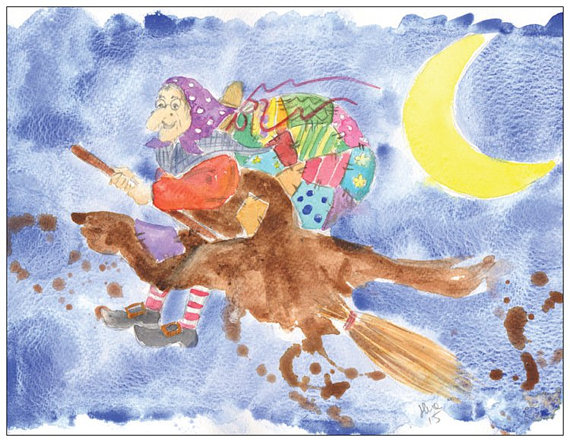 Italian Christmas Traditions- Befana