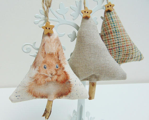 All Things Christmas Market - Christmas Tree Ornaments - Grumble Bums Crafts