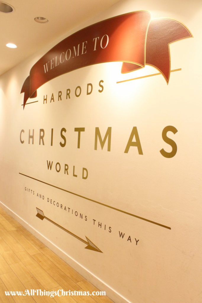 Harrods Christmas World