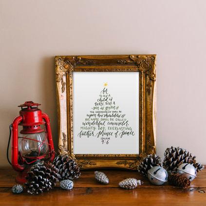 All Things Christmas Market Art and Home Decor - Printable Wisdom