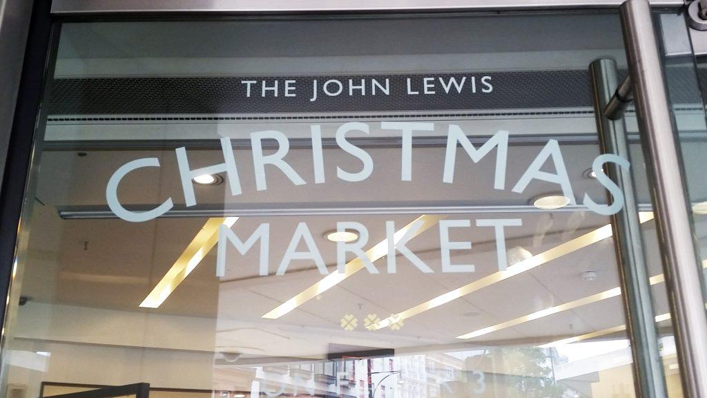 Inside John Lewis Christmas Market