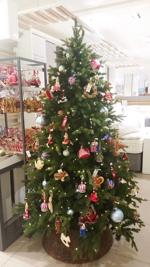 John Lewis Christmas Tree Decorations.Inside John Lewis Christmas Market London All Things Christmas