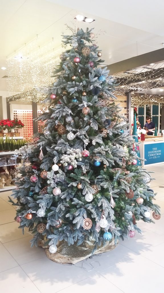 John Lewis Christmas Tree Themes.Inside John Lewis Christmas Market London All Things Christmas