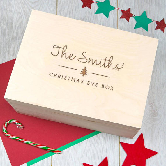 New Christmas Traditions - Christmas Eve Box