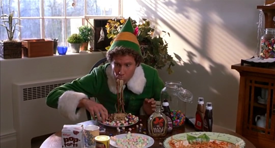 Buddy the elf Christmas Breakfast