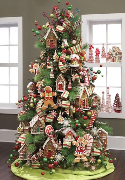 best candy christmas tree ideas - Candy Themed Christmas Decorations