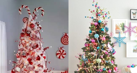 best candy christmas tree ideas decorations all things christmas - Candy Cane Christmas Tree Decorations