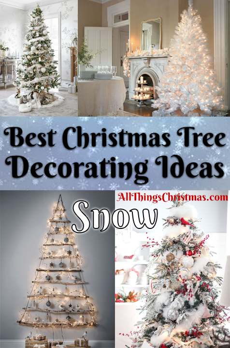Christmas tree decoration ideas snow inspiration all things christmas do you have any snow inspired christmas tree decoration ideas share on our forum solutioingenieria Images