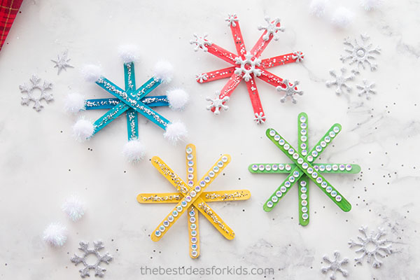 Christmas Crafts For Kids.Best Snowflake Christmas Crafts For Kids All Things Christmas