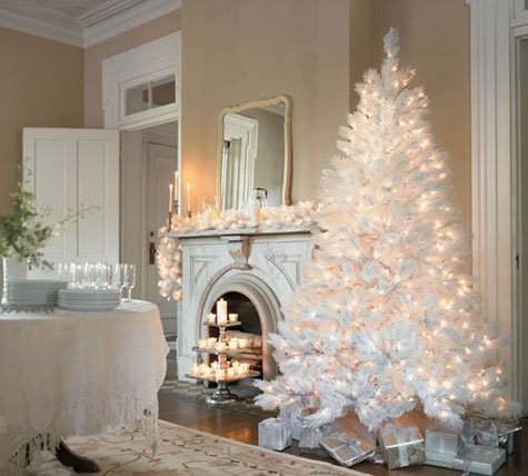 Christmas Tree Decoration Ideas - Snow 2