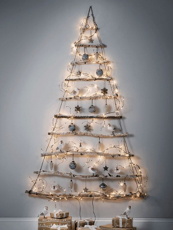 Christmas Tree Decoration Ideas - Snow 7