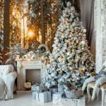 7 Awesome Christmas Murals to step up your Holiday Home Decor game