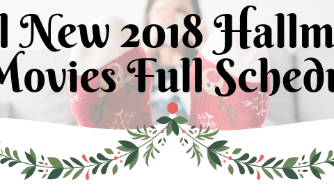 Hallmark 2018 Christmas Movies Full Schedule