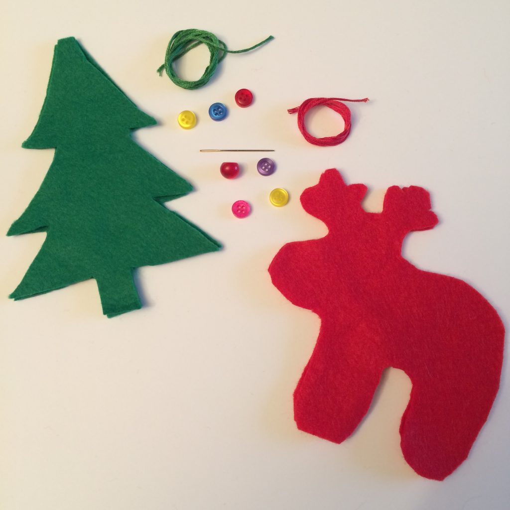 Handmade Felt Christmas Ornaments - Christmas Crafts for Kids - AllThingsChristmas.com